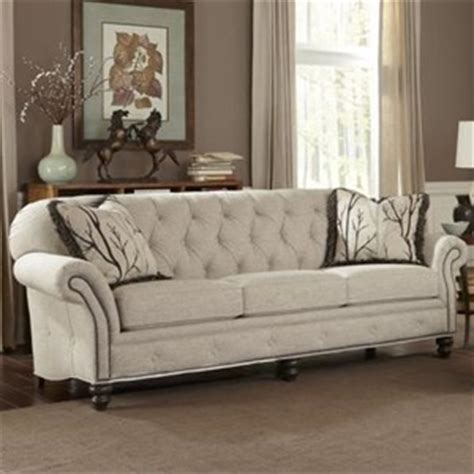 smith brothers 396 traditional button tufted sofa with