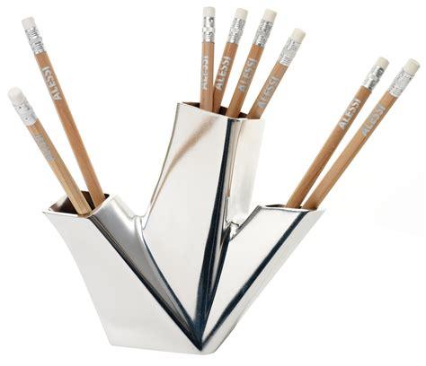pencil holder aluminium by alessi