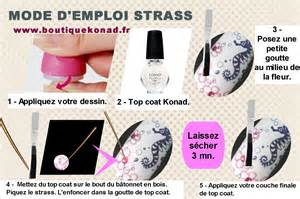 Mode D Emploi Pour Le Berger by Comment Poser Les Strass Nail Art Sting By Konad