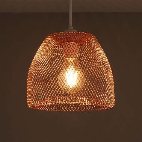 Colours Gatun Copper Wire Light Shade (D)205mm