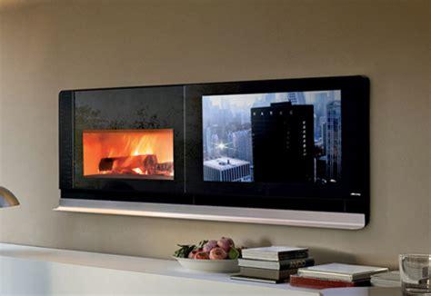scenario fireplace tv solves  television  top