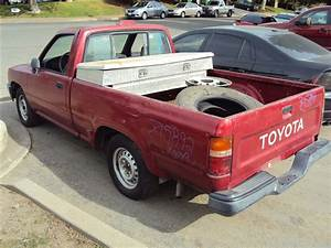 1995 Toyota Pick Up  2 4l 5speed 2wd  Color Red  Stk