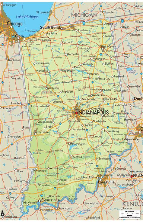 indiana map travelsfinderscom