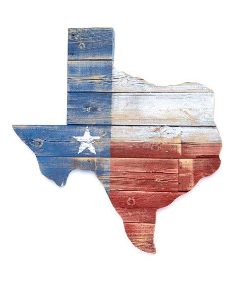 texas flag reclaimed wood wall art  zulily