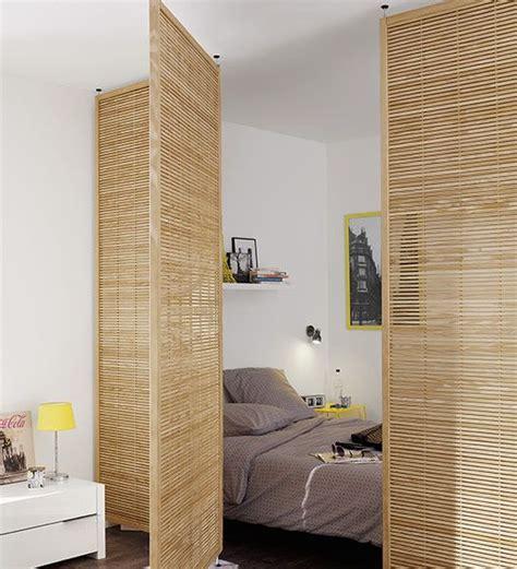 comment faire une separation dans une chambre coin chambre dans le salon 40 idées pour l 39 aménager