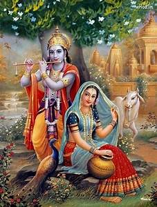 Krishna Playing Flute In Gokul