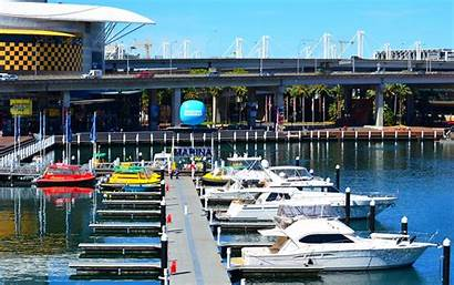 Marina Harbour Darling Sydney Australia Boat Yacht