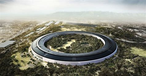 Apples Headquarters New Pictures by Apple S New Headquarters Will Open In April And Features A