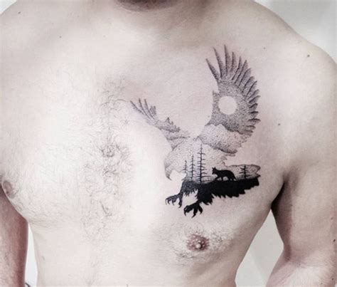Eagle Silhouette Tattoo By Adana  Adana, Tattoos And Body