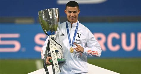 Cristiano Ronaldo makes football history in Juventus Super ...