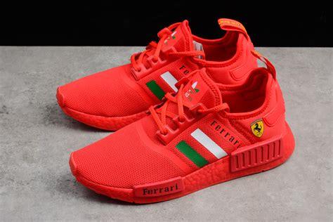 Adidas pw hu holi nmd mc powder dye ac7034. Fashion Adidas NMD Boost Ferrari red women/men shoes on ...