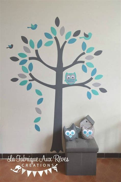 deco chambre bebe garcon gris turquoise album and papillons on
