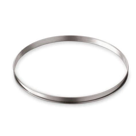cercle de cuisine cercle à tarte inox 32 cm gobel moules et cercles à