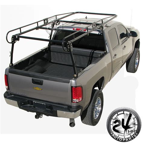 universal contractor pickup truck tool ladder lumber rack