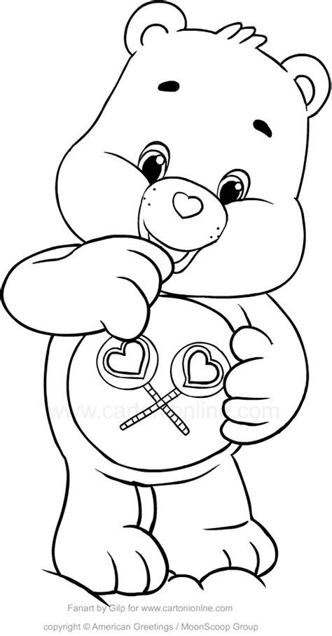 disegno cuore da stare e colorare disegno di amororsa orsetti cuore da colorare