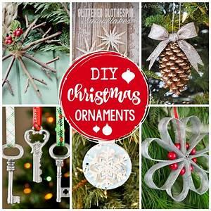 25, Diy, Christmas, Ornaments, To, Make, This, Year