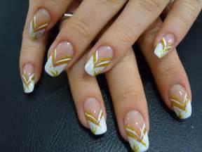 Gold nail designs nailspedia