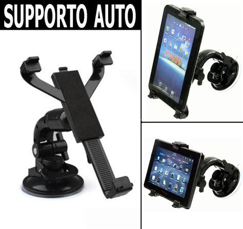 porta tablet auto supporto a ventosa parabrezza porta tablet universale 7 8