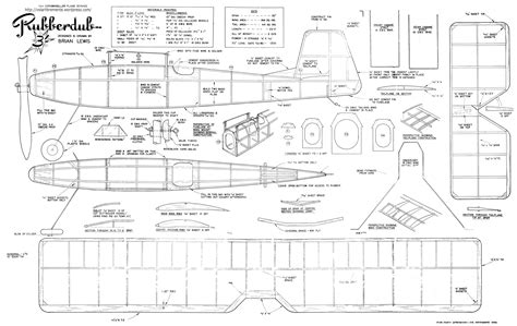 design blueprints for free balsa wood airplane plans free pdf woodworking