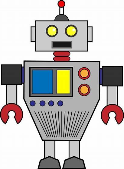 Robot Clipart Clip Robots Cliparts Transparent Background