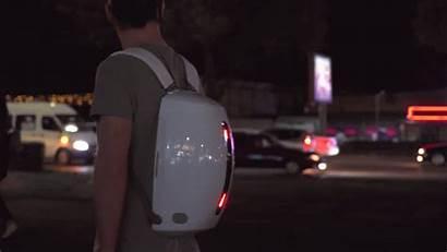 Futuristic Backpack Stylish Behance Backpacks