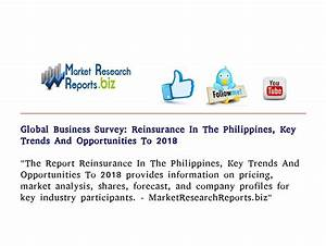 Global Business Survey: Reinsurance In The Philippines ...