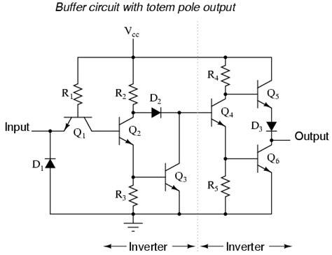 The Buffer Gate Logic Gates Electronics Textbook