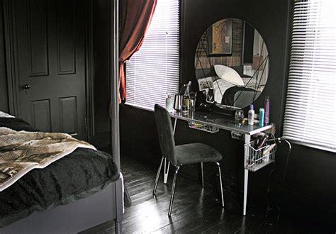 black paint color contemporary bedroom ralph lauren