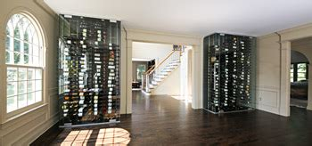 modern wine cellar meets classic colonial vintageview
