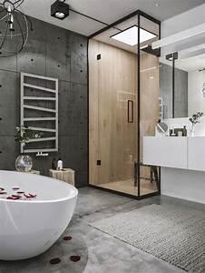 Badezimmer Moderne Einrichtung Rustikal Beautiful