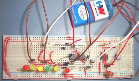 Dancing Leds Circuit Diagram Using Timer