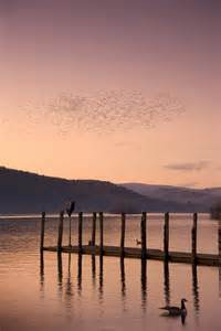 Sunset Over Lake Dock
