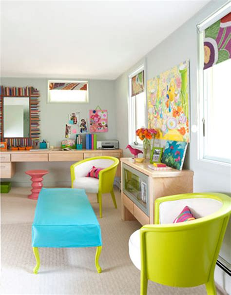 bright colors furniture of vibrant modern sofas