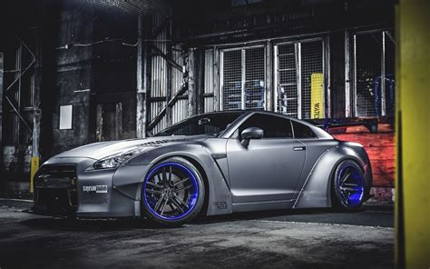 Nissan Gtr Liberty Walk Tuning 4k Hd Wallpaper
