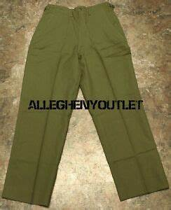 US Military Korean M-1951 WOOL Cold Weather FIELD TROUSERS ...