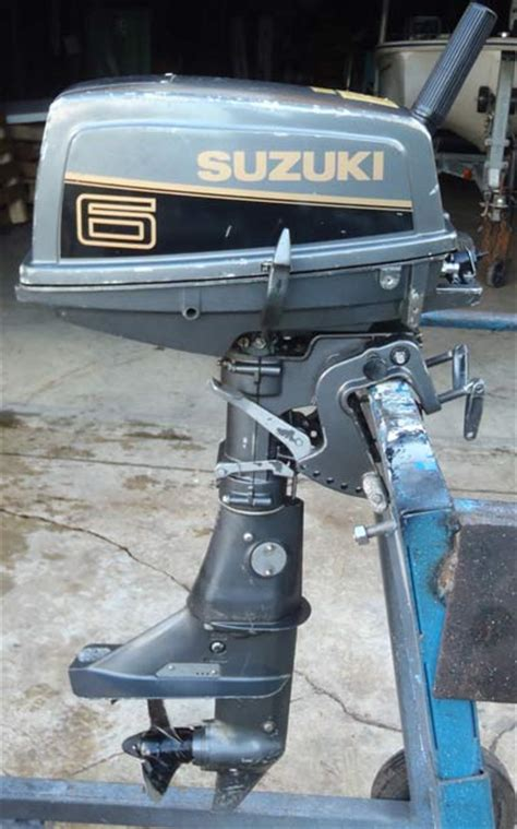 Boat Motors Suzuki by Used Suzuki 6 Hp Outboard Motor For Sale Suzuki Boat Motors