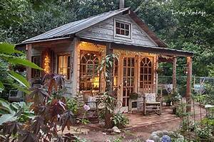 Jenny's Garden Shed Revealed! - Living Vintage