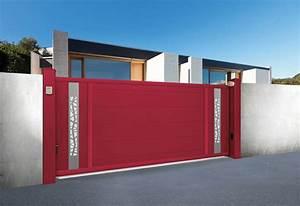 Portail Coulissant 4m Castorama : portail coulissant alu sur mesure sib ~ Melissatoandfro.com Idées de Décoration