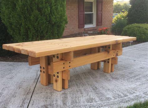 japanese style cedar garden bench outdoor garden bench