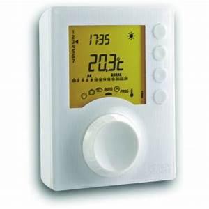 Delta Dore Tybox 117 : thermostat programmable comparer 705 offres ~ Melissatoandfro.com Idées de Décoration