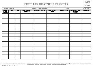 register  aid injury register allsafety