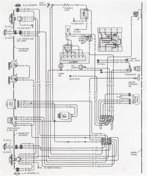 1980 Chevy Wiring by 1980 Camaro Wiring Problems Camaro Forums Chevy Camaro