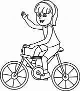 Coloring Bike Pages Street Bicycle Bmx Getdrawings sketch template