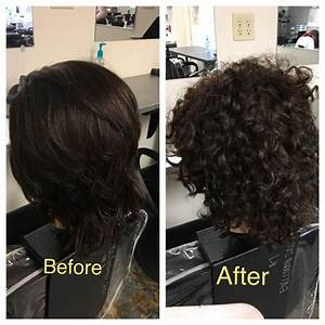 Real Perm Before After Using Full Body Per Solution   Curls  Perm  Beforeafter  Full  Volume