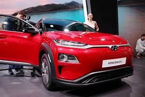 Essai Hyundai Kona Electrique : hyundai kona lectrique le suv grande autonomie d voil officiellement au salon de gen ve ~ Maxctalentgroup.com Avis de Voitures