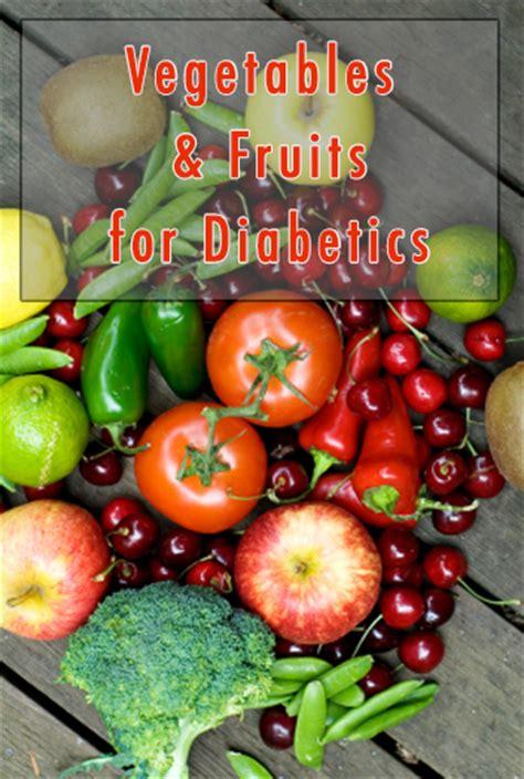 list  good fruits vegetables  diabetics