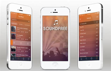 ios app templates soundfree radio ios app template