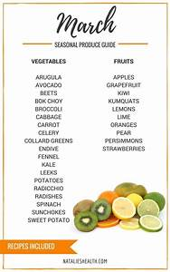 6 Month Diet Chart What 39 S In Season March Seasonal Produce Guide Good