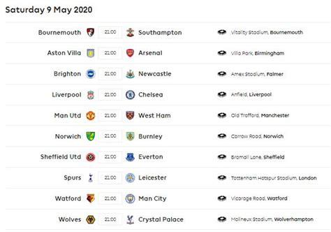 jadwal lengkap liga inggris   siaran langsung tvri