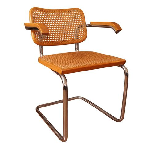 chaise marcel breuer caned chair by marcel breuer